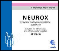 NEUROX®, (aka Mexifin) 10ampuls/pack, 2ml(50mg)/ampul