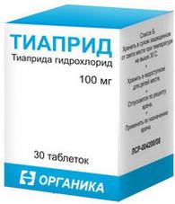 TIAPRIDE®, (aka Tiapridal) 30pills/pack, 100mg/pill
