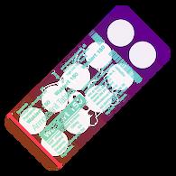 WAKLERT® (aka Nuvigil, Armodafinil), 10 pills/pack, 150mg/pill