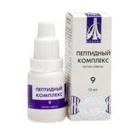 PEPTIDE COMPLEX 09 for the male reproductive system, 10ml