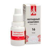 PEPTIDE COMPLEX 16 for stomach and duodenum, 10ml