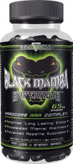 Black Mumba Hyperrush® Energy + Fat Burner (Ephedra + Thermo-RX and Extend-RX technology), 90caps/pack, 65mg/cap
