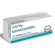 OLANZAPINE® (aka Zyprexa), 28pills/pack, 10mg/pill