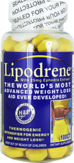 LIPODRENE® (advanced fat loss), 25mg/tab, 100 tabs/pack