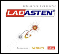 Sample Ladasten (aka Bromantane), 50mg, 10 tabs