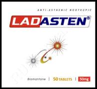 LADASTEN® (aka Bromantane), 50pills/pack, 50mg/pill