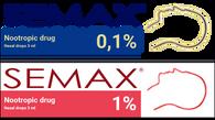 SEMAX®, 1%, 0,1%,  3ml