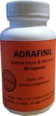 ADRAFINIL®, (aka Olmifon) 60pills/pack, 300mg/pill