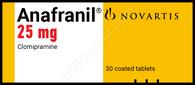 ANAFRANIL®, (aka Clomipramine) 30pills/pack, 25mg/pill