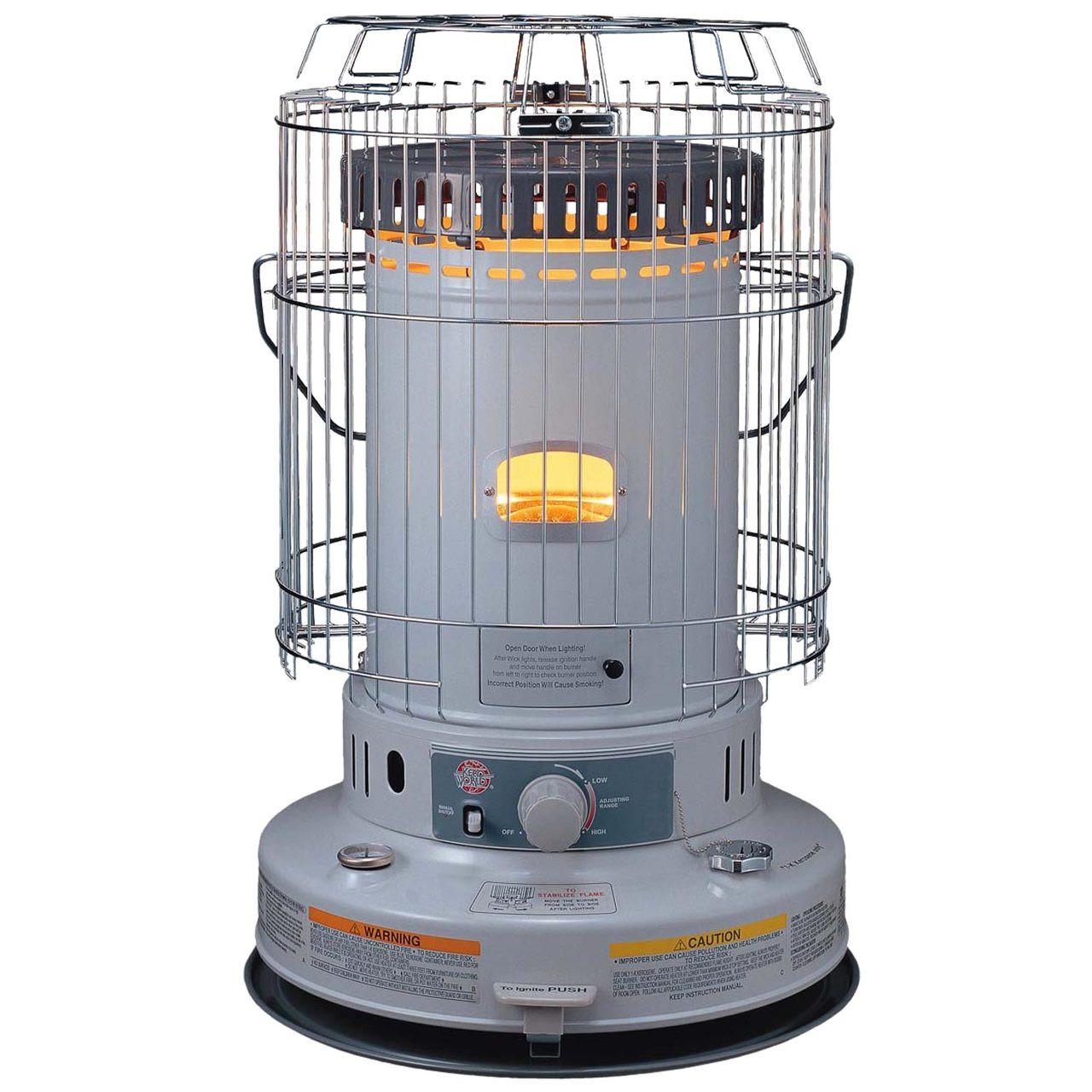 Kero World KW-24G 23,800 Btu Portable Indoor Kerosene Heater ...