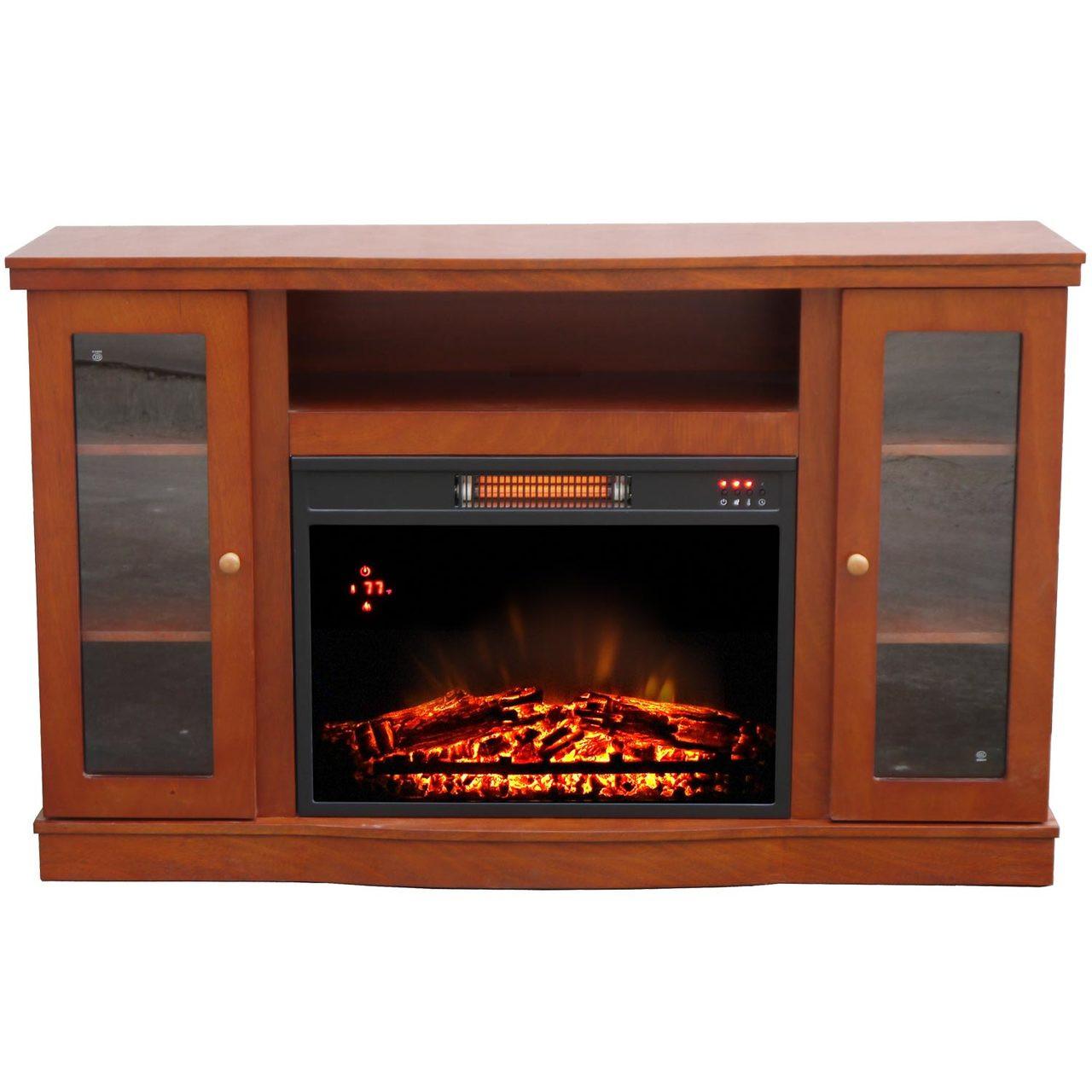 comfort glow qef7530rkd abington media center with infrared quartz