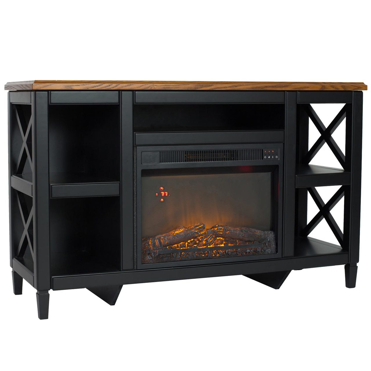 comfort glow qef7541rkd camden media center with infrared quartz
