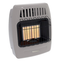 Kozy World KWD215 12000 Btu 2 Plaque Dual Fuel Infrared Vent Free Wall Heater
