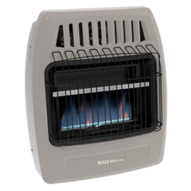 Kozy World KWN253 20000 Btu Blue Flame Natural Gas Vent Free Wall Heater