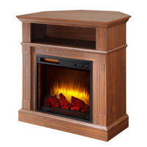 Comfort Glow QF7511RKD Dover Media Center with Infrared Quartz Electric Fireplace