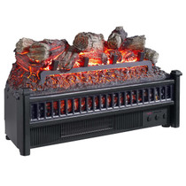 Comfort Glow ELCG240 Electric Log Insert, Heater & Firebox Flame Projection 4,600 BTUs