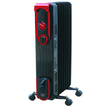 Comfort Glow EOF261 Sleek Portable Oil Filled Radiator Heater, Black