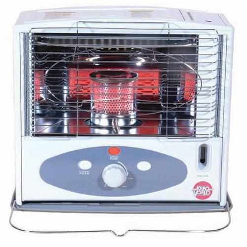 Kero World KW-11F 10,000 Btu Radiant Indoor Kerosene Heater ...