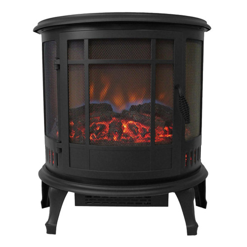 Comfort Glow ES4830 Claremont 180 Degree Viewing Black Electric Stove