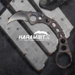 R.S. Knifeworks Scorched Karambit (RSKScorchedKbitMTO)