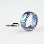 James Coogler Timascus Ring Style 5 - Size 9.5 (CooglerTimRingStyle5)