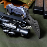 R.S. Knifeworks Prototype Mokuti Surge Folding Karambit (RSKSurgeMokProtoKbit)