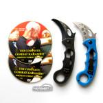 Emerson Black Combat Folding Karambit & DVD Training Package - 3 in 1 (EmersonBlkKbit+EmrsnTrnr+DVDPkg)