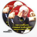 Emerson Black Folding Combat Karambit & DVD Training Package - 3 in 1