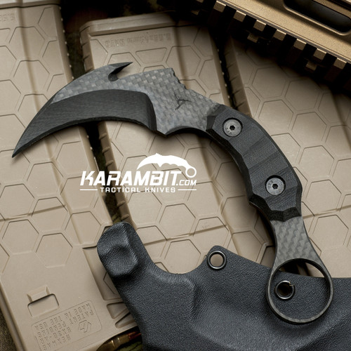 James Coogler's Carbon Fiber Night Stalker Karambit
