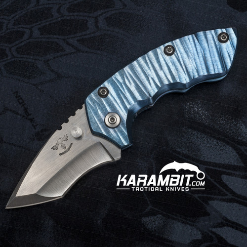 James Coogler's Sky Blue Archangel Harrissi Folding Knife