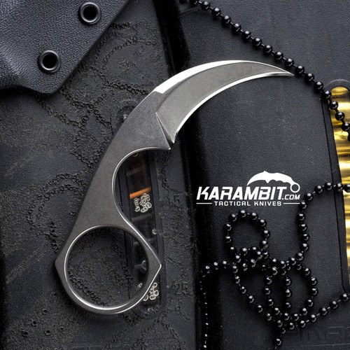 Bastinelli Cerakote Diagnostic Neck Knife (BastiDiagnosticNeckSatin)