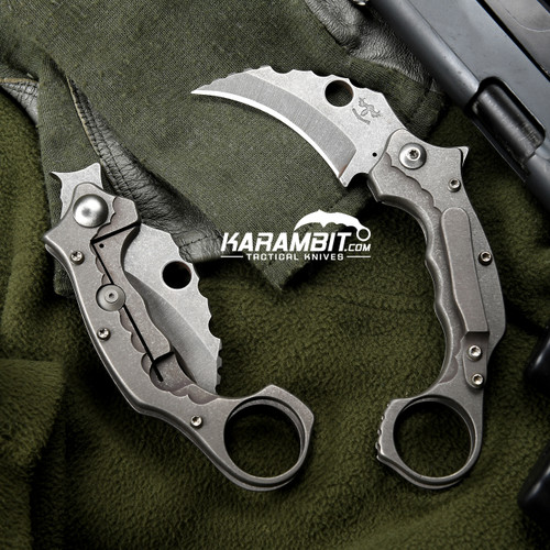 James Coogler's Smooth Smasher Flipper Karambit