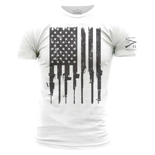 Rifle Flag T-shirt