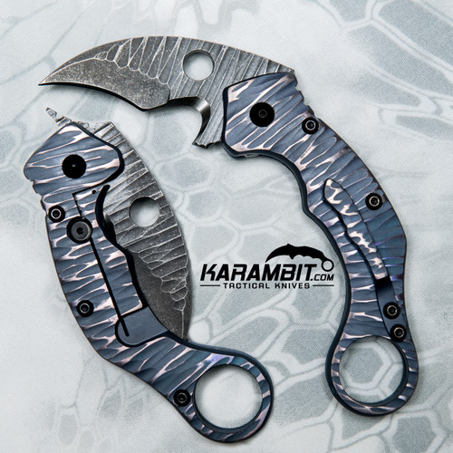 James Coogler's Purple Reaper X2 Folding Karambit