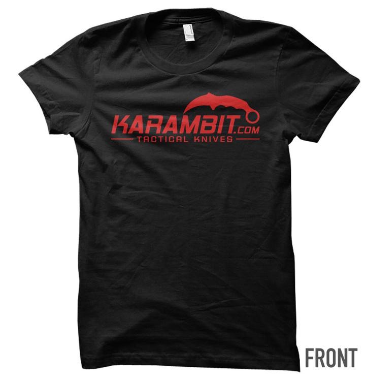 Karambit.com Red Logo T-Shirt