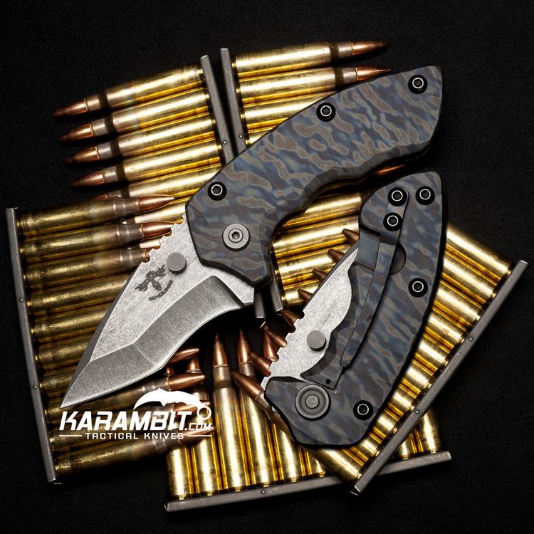 James Coogler's Camo Archangel Harrissi Folding Knife
