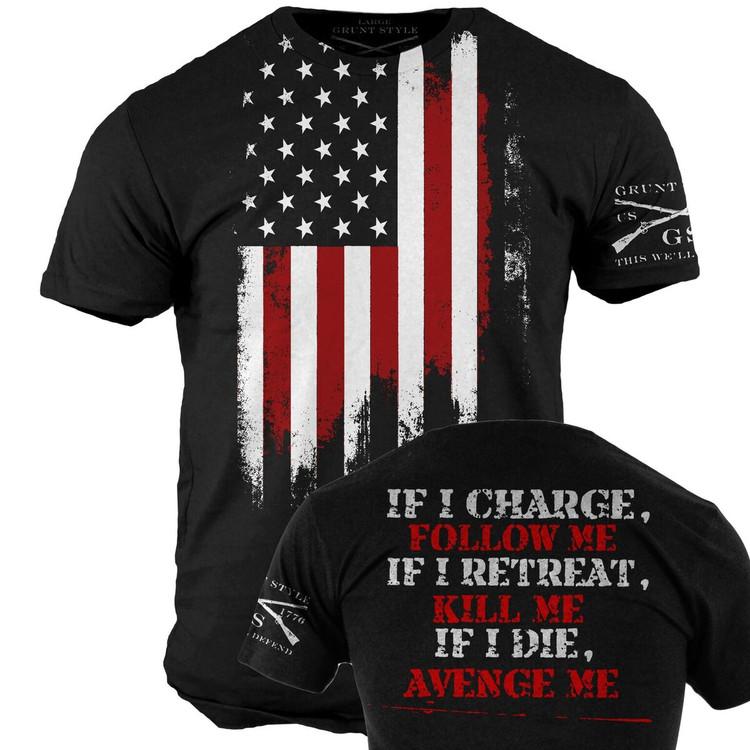 Avenge Me T-Shirt (GS330)