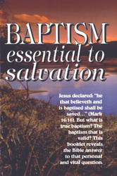 H17. Baptism: Essential To Salvation
