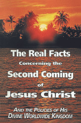 H26. The Real Facts Concerning The Second Coming Of Jesus Christ