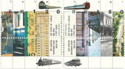 100 Years Jaffa - Jerusalem Railway Line stamps
