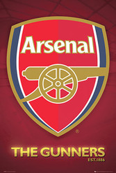 ARSENAL CLUB CREST Official Soccer  Poster 2015/16, #865