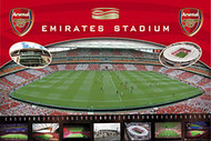 ARSENAL EMIRATES STADIUM Official Soccer  Poster, #384