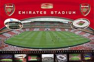ARSENAL EMIRATES STADIUM Official Soccer  Poster, #384