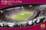 BARCELONA FC Nou Camp Stadium- Evening Poster 2015/16-#282