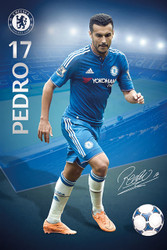 CHELSEA PEDRO Official Soccer Player Poster 2015/16-#314