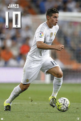 REAL MADRID JAMES  Official Soccer Player Poster 2015/16-#947