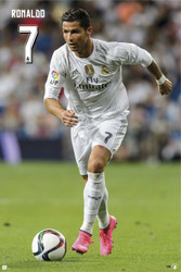REAL MADRID RONALDO-ACTION  Official  Player Poster 2015/16-#951