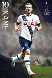 TOTTENHAM SPURS KANE Official Soccer Player Poster 2015/16-#319