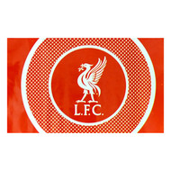 LIVERPOOL FC BULLSEYE Style Licensed Flag 5' x 3'