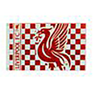 LIVERPOOL FC CHECKARD Style Licensed Flag 5' x 3'